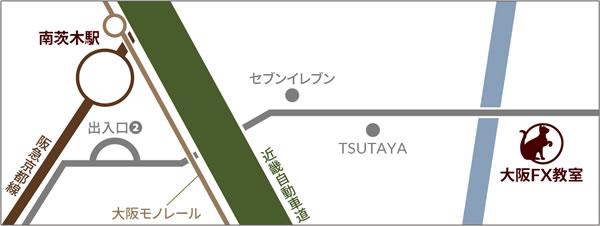 大阪FXスクール | マップ